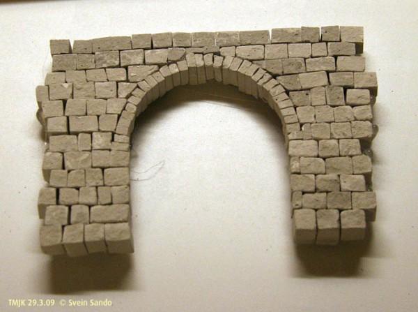 Støpeoriginal for tunnelportal type Selsbakk syd