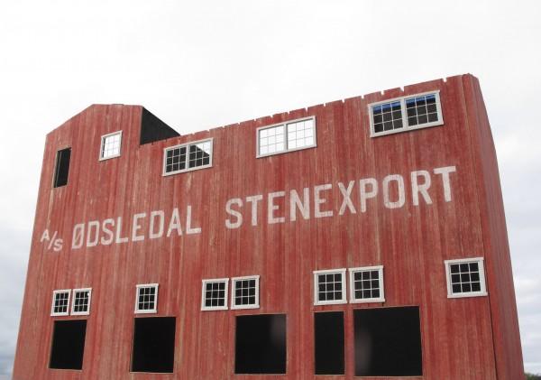 Ødsledal Stenexport under bygging