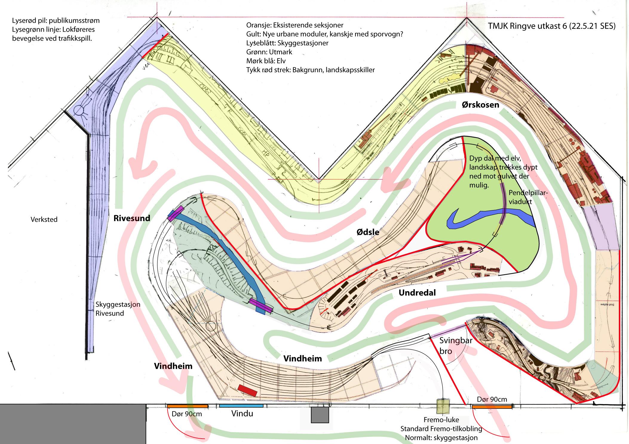 Planlegging av Ringveanlegget